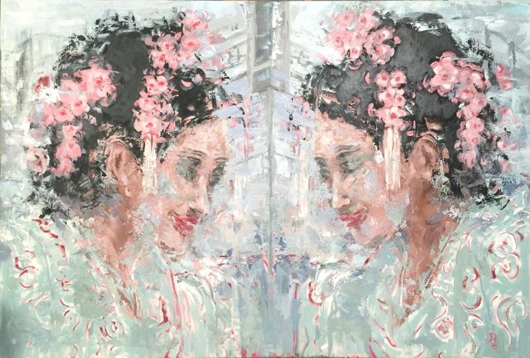 Double Facing Geisha