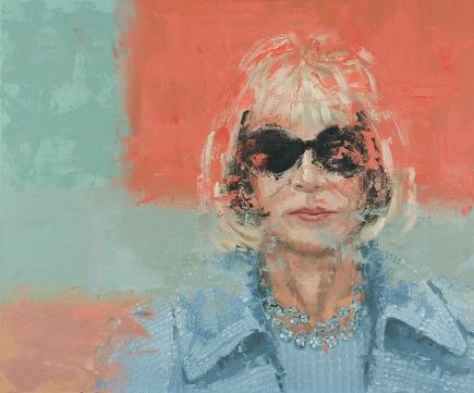 """Anna Oil on Canvas. 30 x 36"""". 2017."""