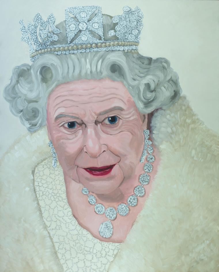 The Queen 60 x 48